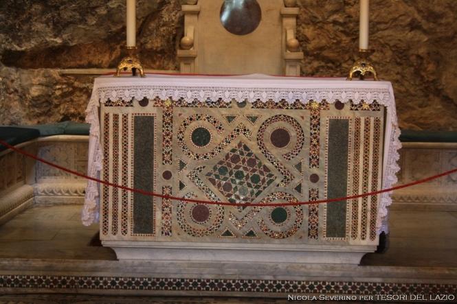 Sacro Speco - Altare Chiesa Superiore