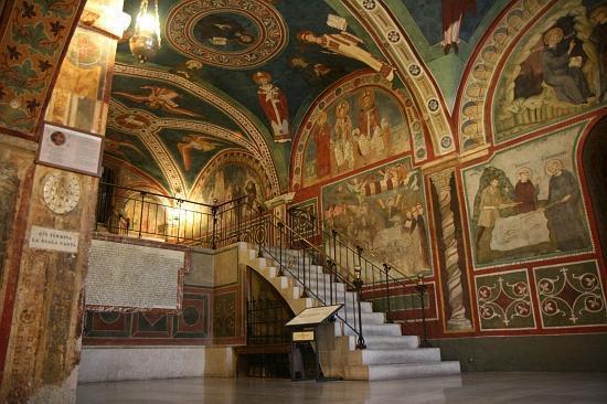 Sacro Speco - Chiesa Inferiore